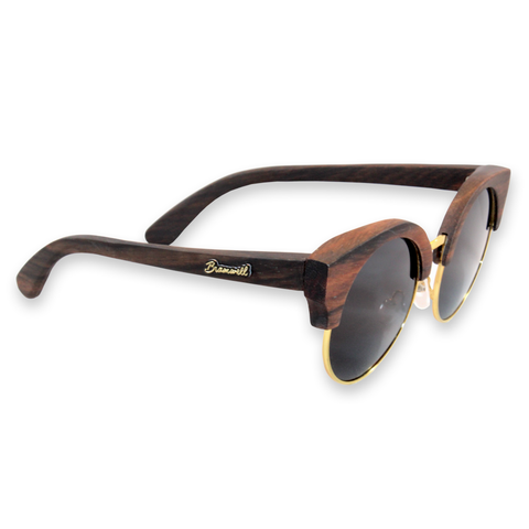 Swamis Vintage Ebony Walnut Sunglasses Right