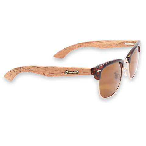 Torrey Pines Tortoise Clubmasters Sunglasses Right