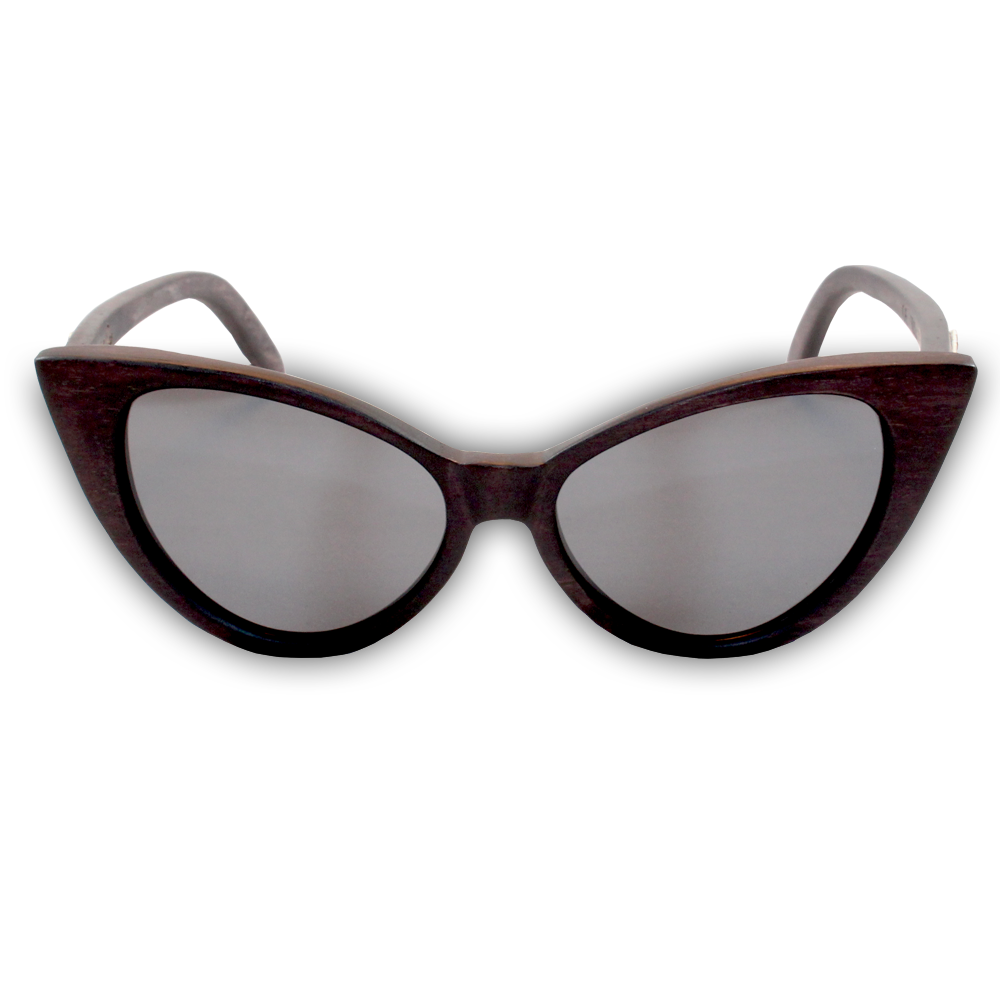 Wind & Sea Duwood Cat Eye Sunglasses Front