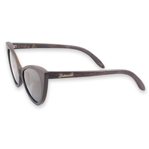 Wind & Sea Duwood Cat Eye Sunglasses Left