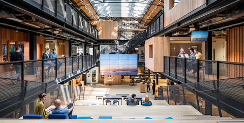 The 10 most beautiful offices of 2017 united strangers - Airbnb office dublin address ...