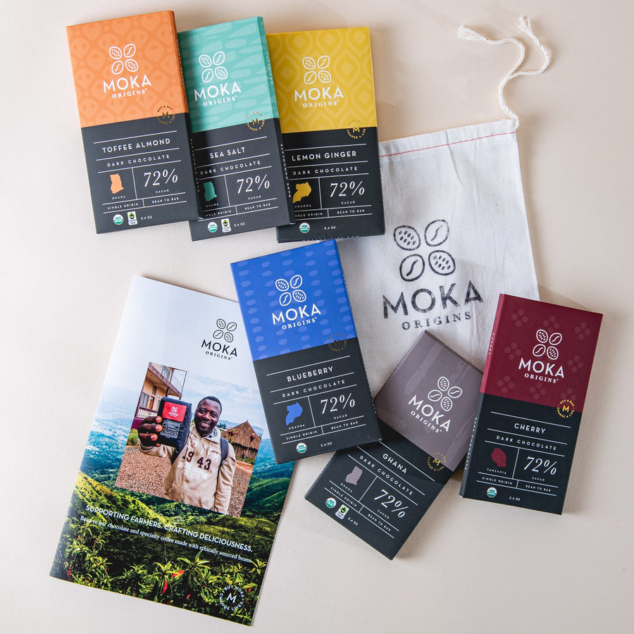 6 Bar Gift Set Bundle Moka Origins