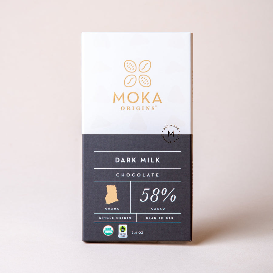 Dark Milk Chocolate Chocolate Bars Moka Origins