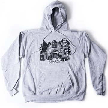Grey Factory Hoodie Merchandise Moka Origins