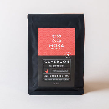 Cameroon Mt Oku Region Coffee 12oz Moka Origins