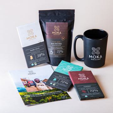 Chocolate Lover's Gift Set Bundle Moka Origins