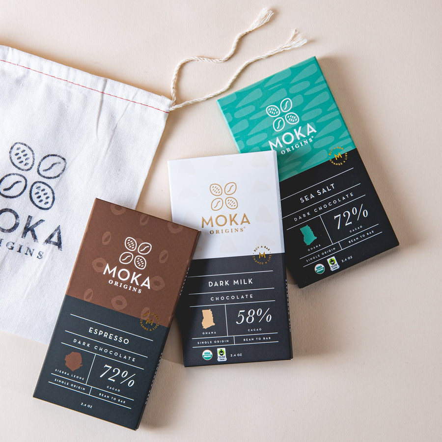Decadent Bar Bundle Bundle Moka Origins