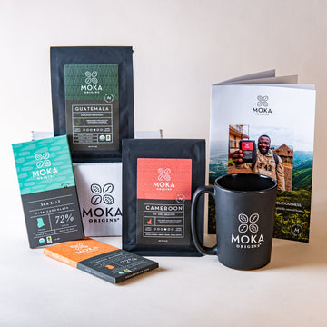 Eat and Sip Gift Set (Coffee) Bundle Moka Origins
