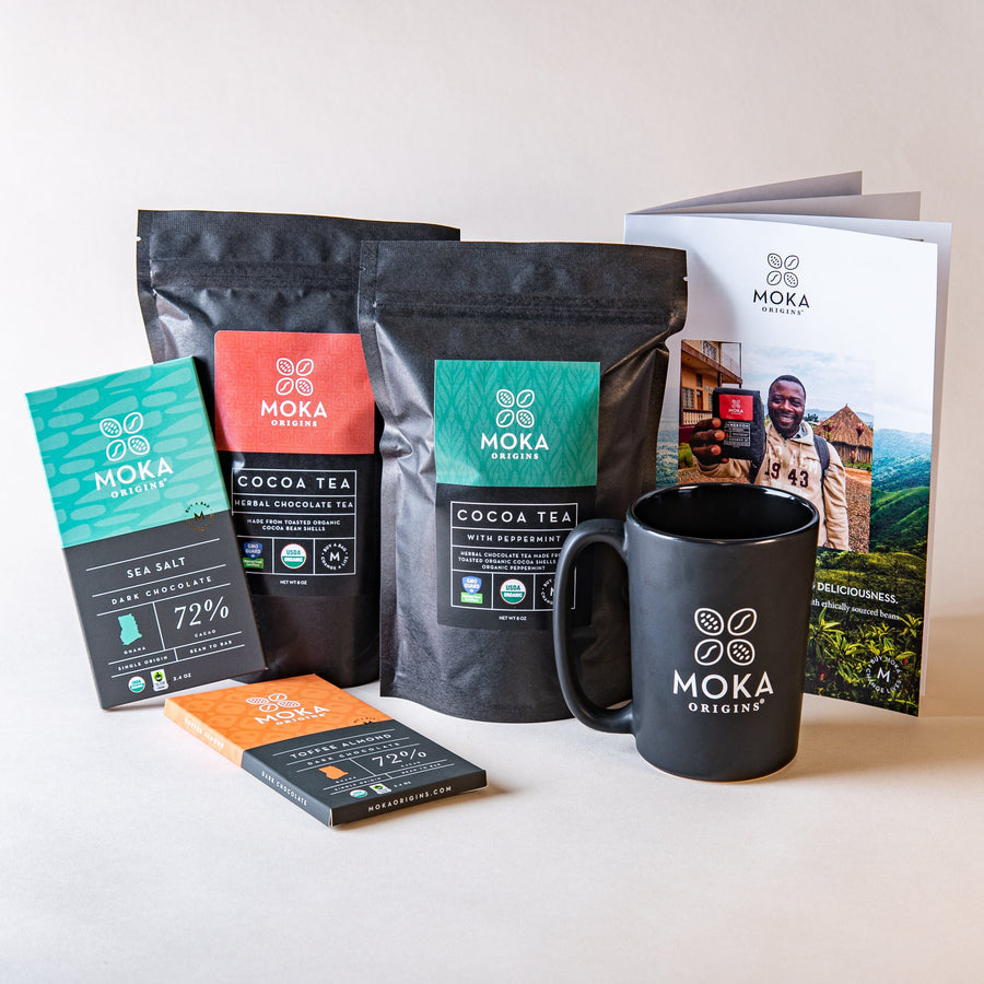 Eat and Sip Gift Set (Tea) Bundle Moka Origins