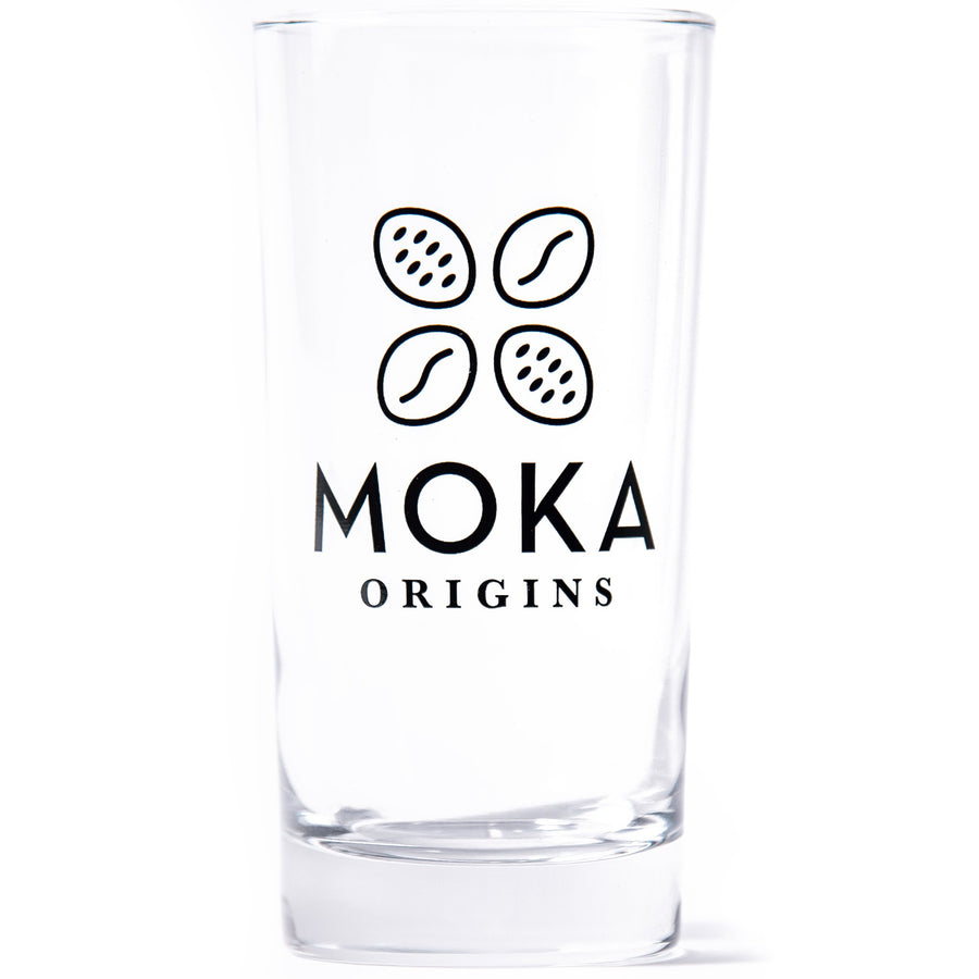 Cold Brew Glass Merchandise Moka Origins