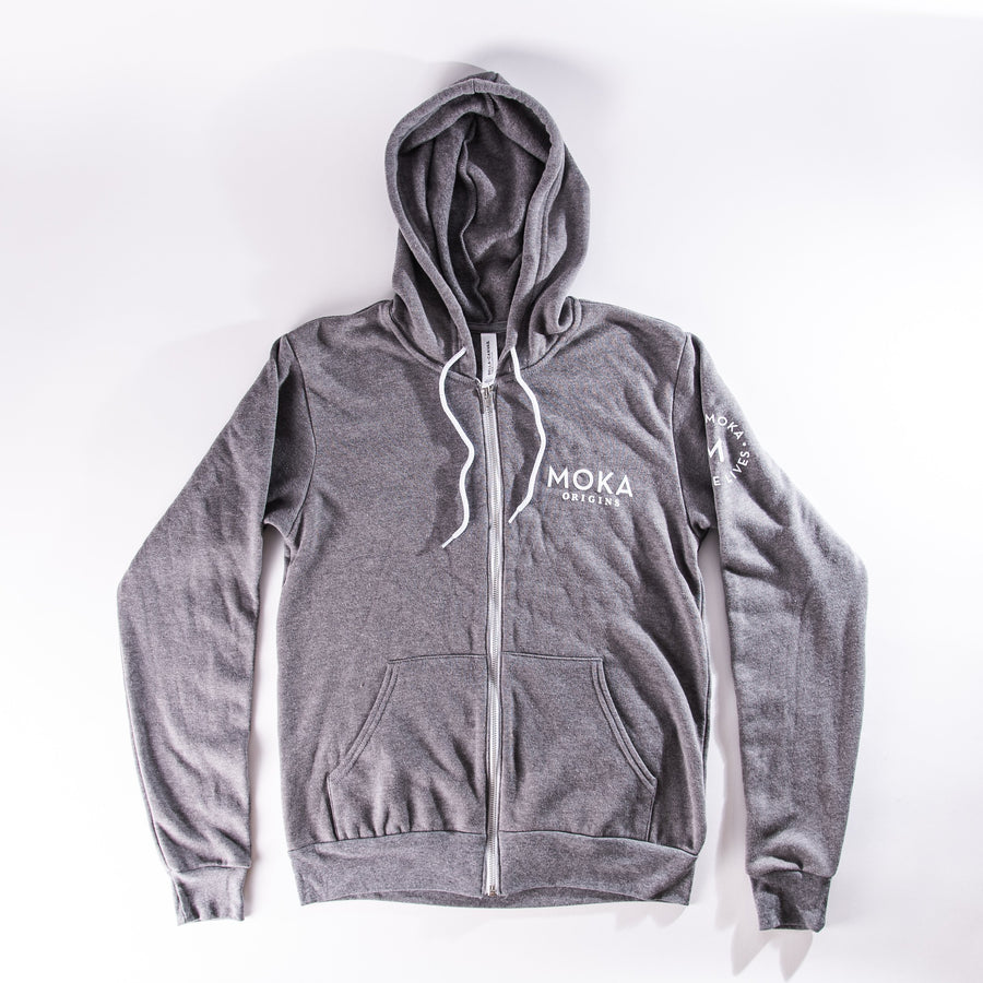 Mission Fleece Full-Zip Hoodie Merchandise Moka Origins S Deep Heather