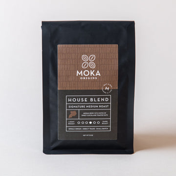 House Blend Coffee 12oz Moka Origins