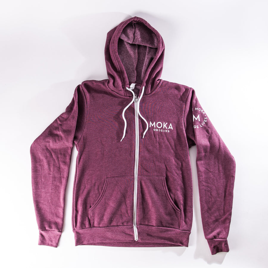 Mission Fleece Full-Zip Hoodie Merchandise Moka Origins S Maroon