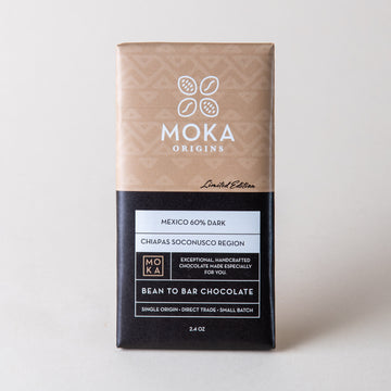Mexico 60% Dark Chocolate Bars Moka Origins