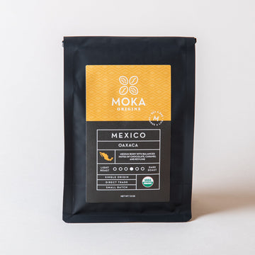 Mexico Oaxaca Coffee 12oz Moka Origins