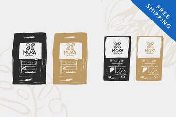 Monthly Subscription - 2 Coffees & 2 Chocolates Moka Box Moka Origins