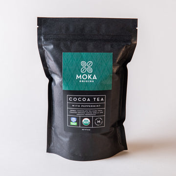 Cocoa Tea - with Peppermint Tea Moka Origins