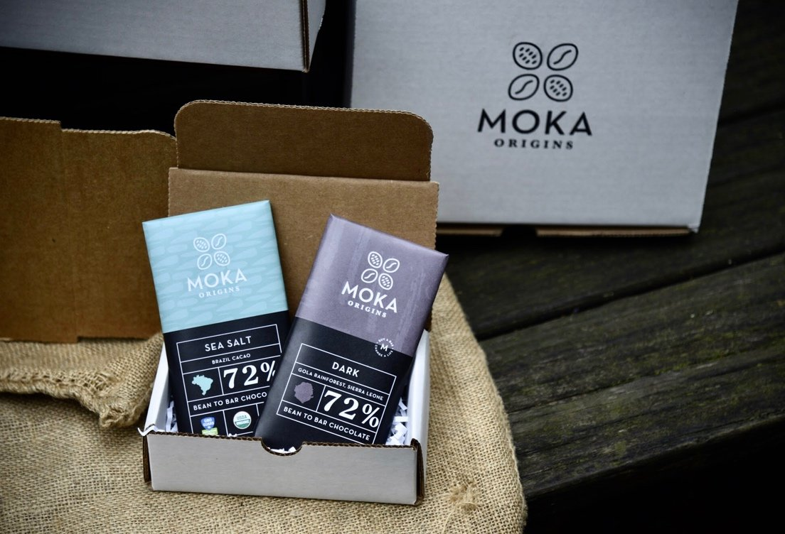 Moka Corporate Gift Box - 2 Chocolate