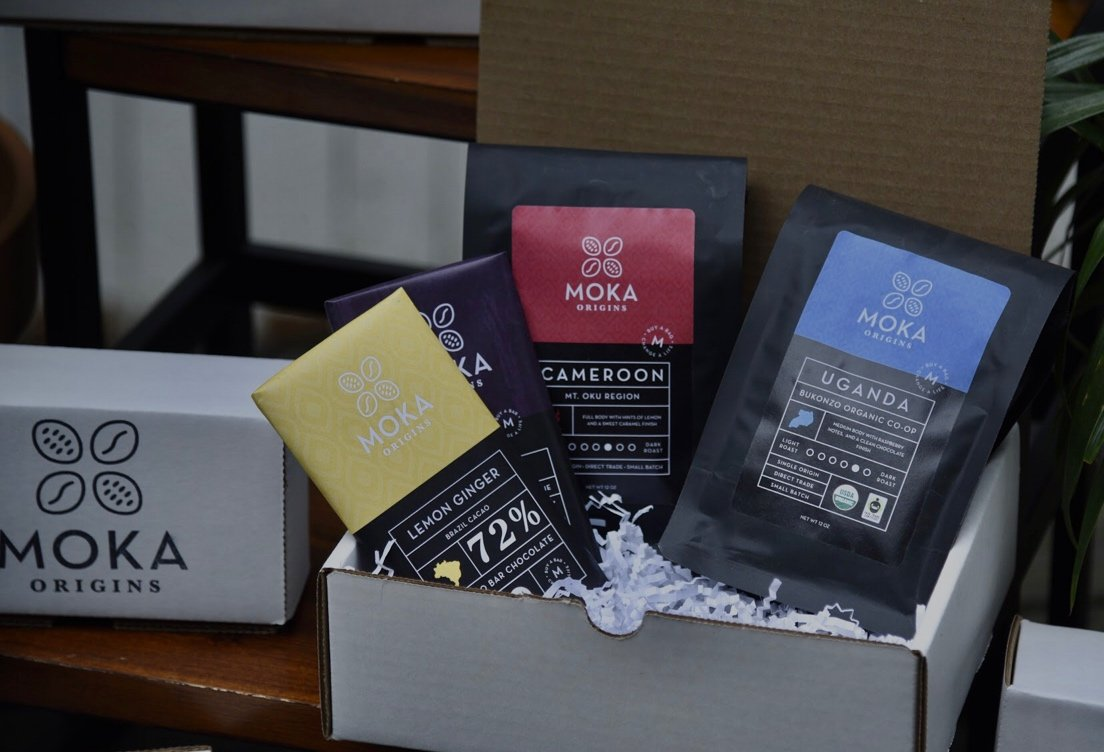 Moka Corporate Gift Box - 2 Bags / 2 Bars