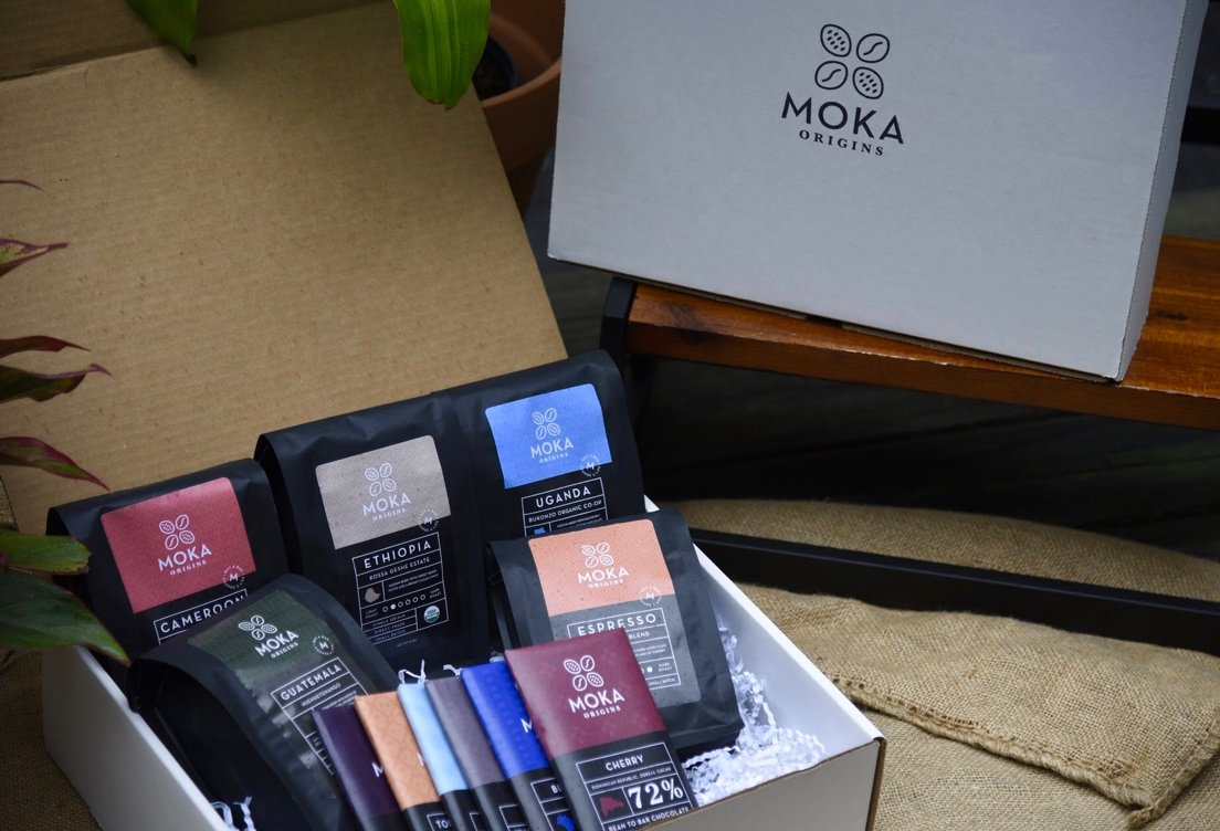 Moka Corporate Gift Box - 6 Chocolate