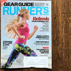 As seen in Runner's World!