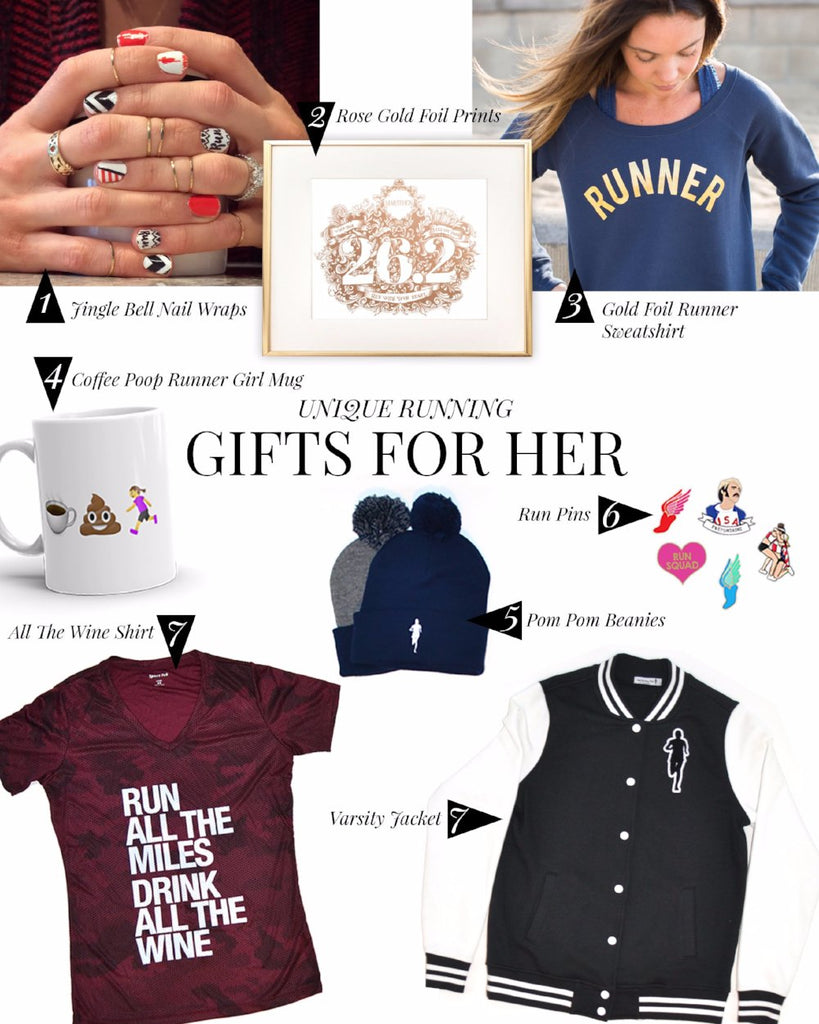 Running Gift Guide - Gifts for Her