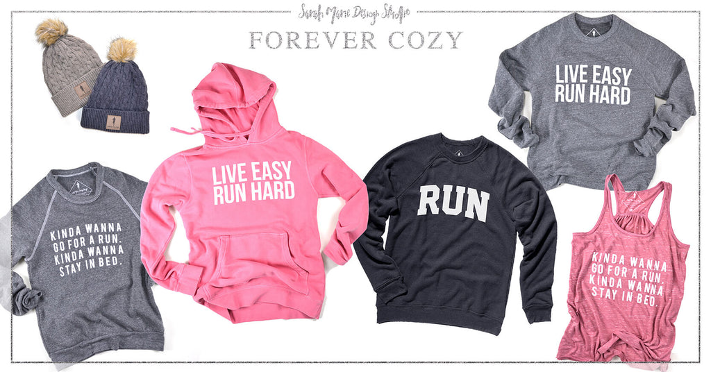 Runner Gift Guide - Sarah Marie Design Studio Forever Cozy Collection