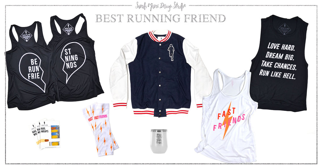 Gifts for your Running Best Friend - Sarah Marie Design Studio Runner Gift Guide