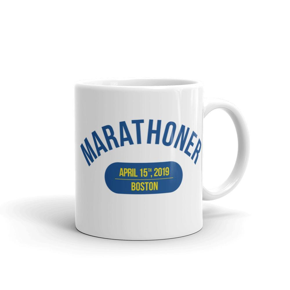 Marathoner Mug - Boston - Sarah Marie Design Studio