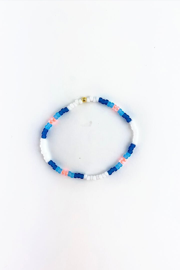Blue Flame Stackable Bracelets - Sarah Marie Design Studio