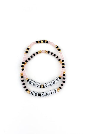 But Take No Shit Bracelet - Sarah Marie Design Studio