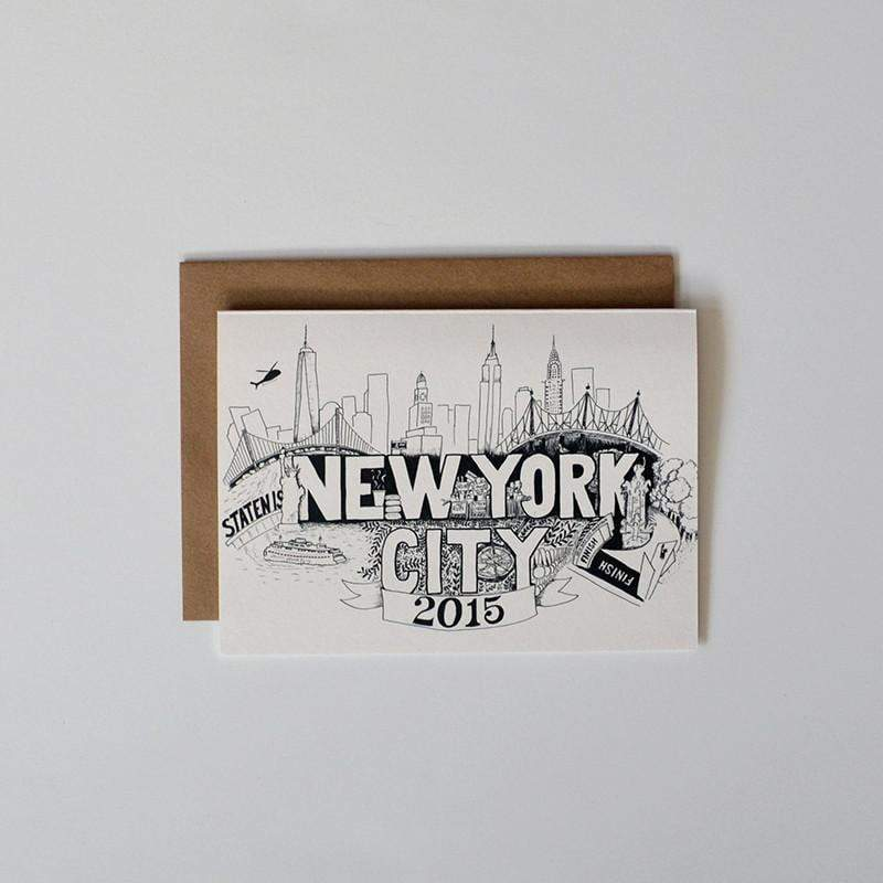 NYC Marathon Card - Sarah Marie Design Studio