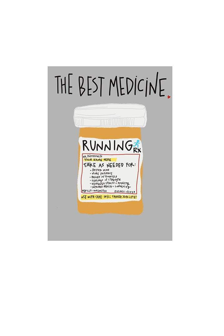 The Best Medicine Card - Sarah Marie Design Studio