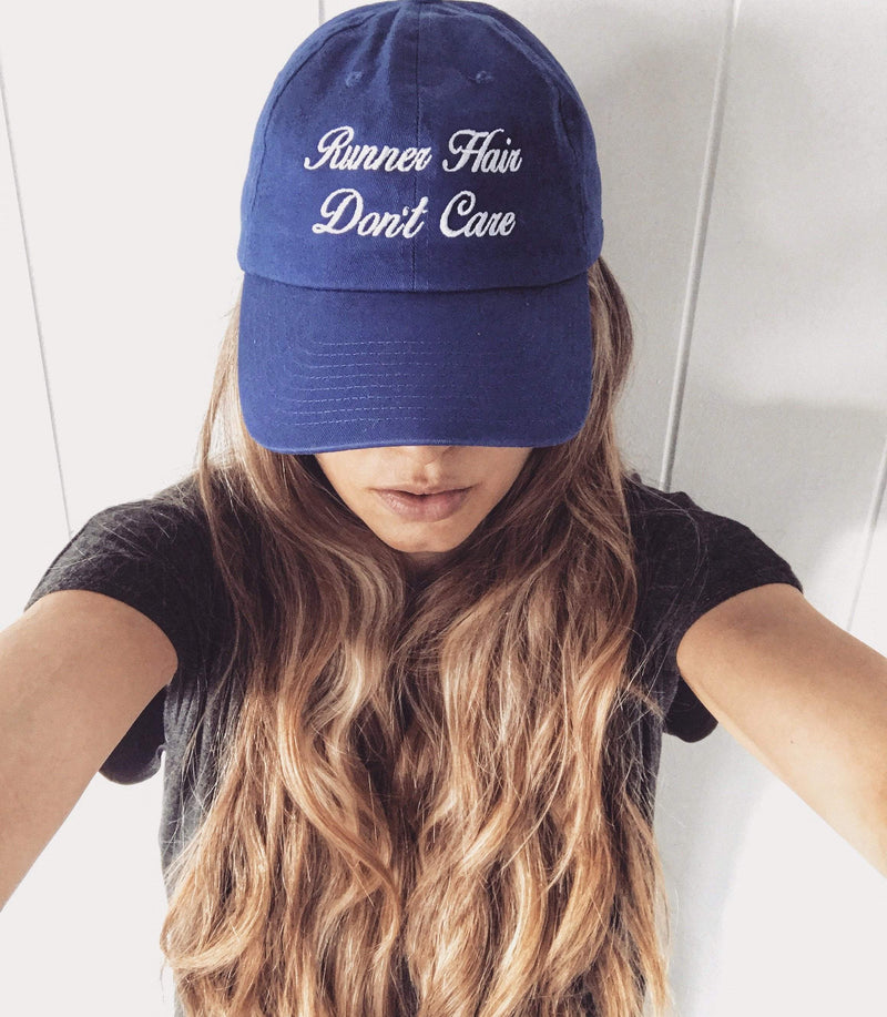 Runner Hair Don't Care Hat - Sarah Marie Design Studio
