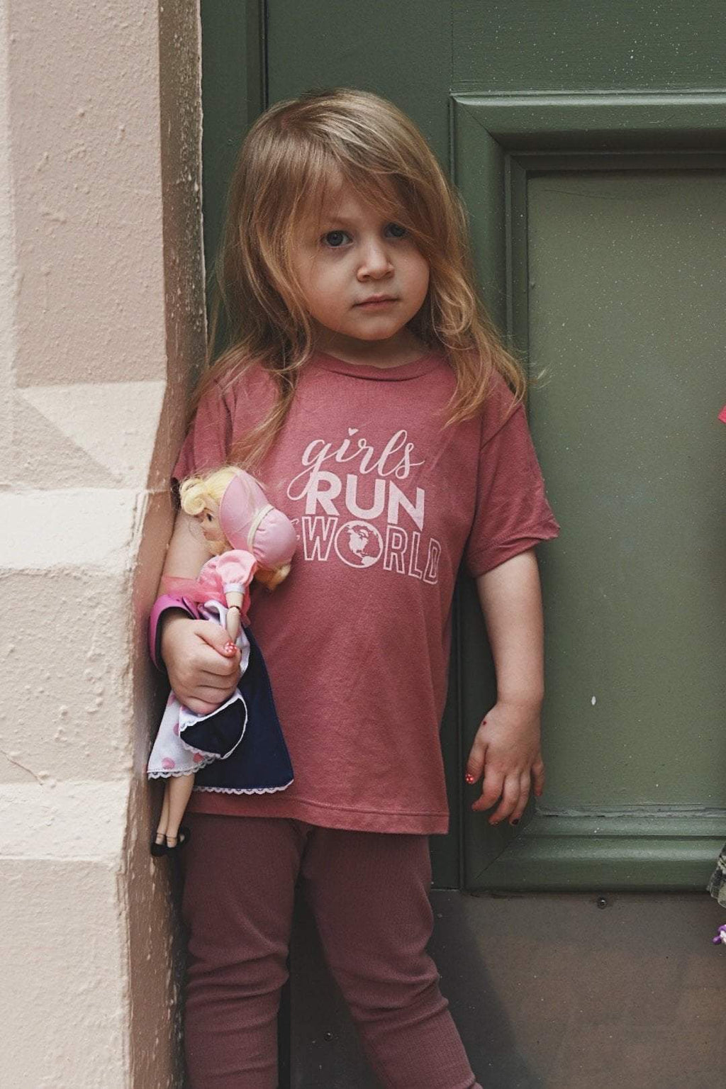 Girls Run The World Toddler T-Shirt - Sarah Marie Design Studio