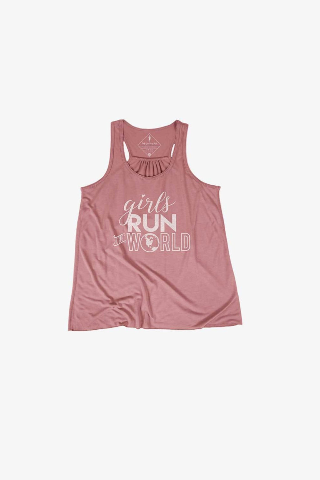 Girls Run The World Youth Tank - Sarah Marie Design Studio