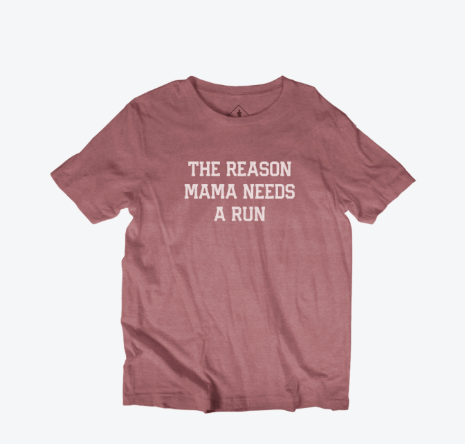 The Reason Mama Needs A Run Youth T-Shirt - Sarah Marie Design Studio
