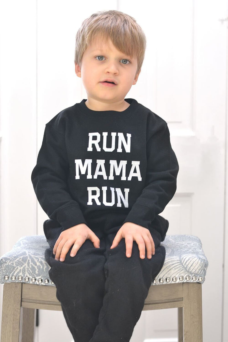 Run Mama Run Sweatshirt - Sarah Marie Design Studio