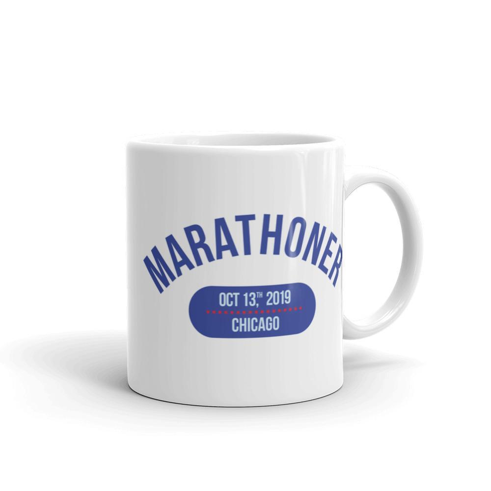 Marathoner Mug - Chicago - Sarah Marie Design Studio