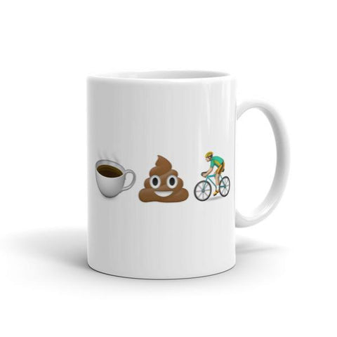 Coffee Poop Swim Mug