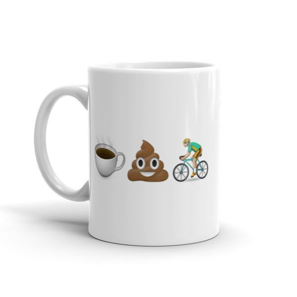 Coffee Poop Cycle Mug - Sarah Marie Design Studio