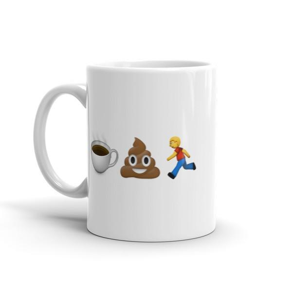 Coffee Poop Run 11oz -  Mug - Sarah Marie Design Studio