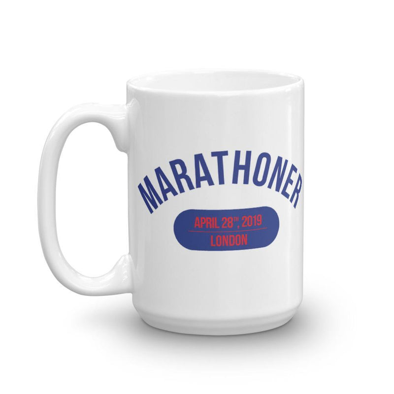 Marathoner Mug - London - Sarah Marie Design Studio