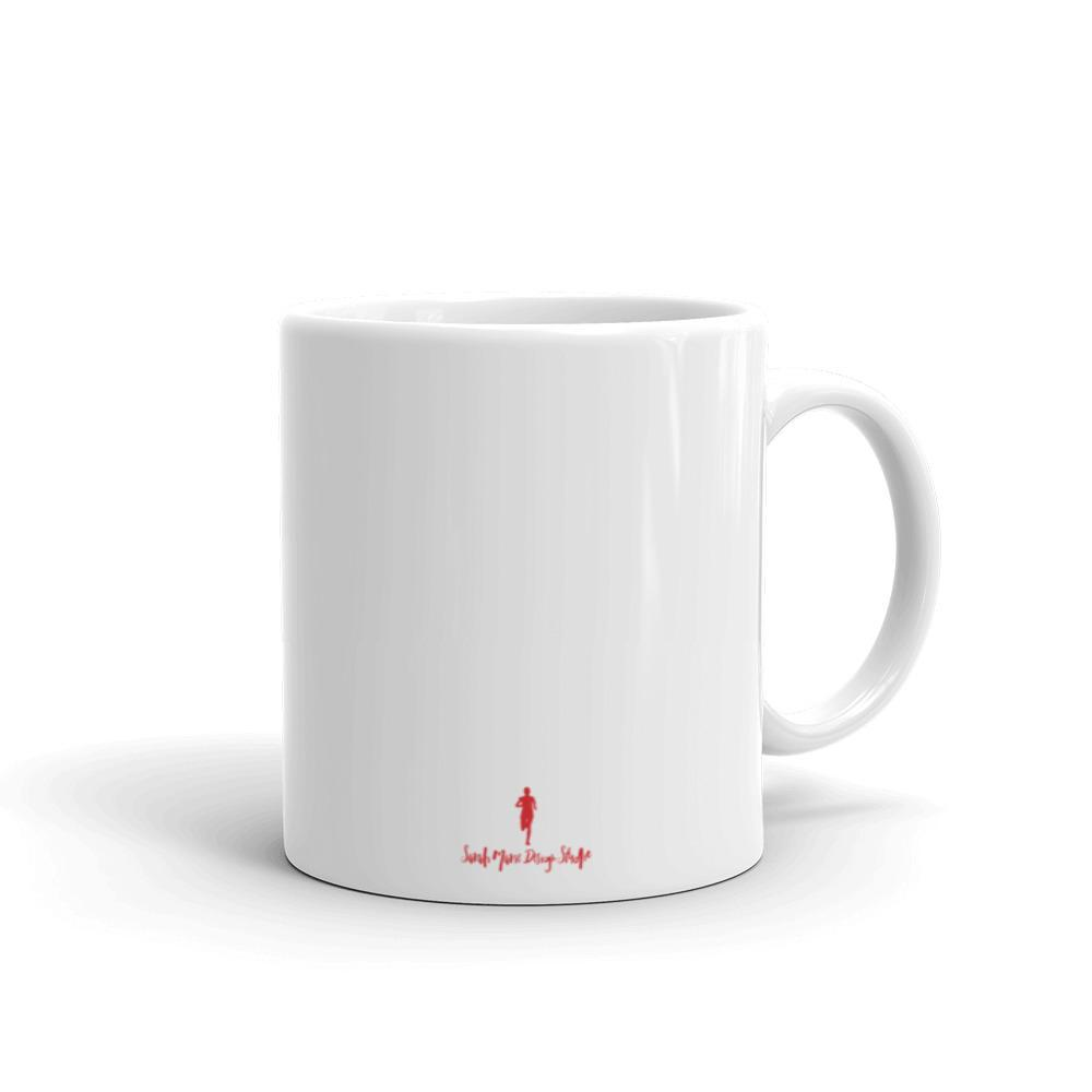 Run Heart Mug - Sarah Marie Design Studio