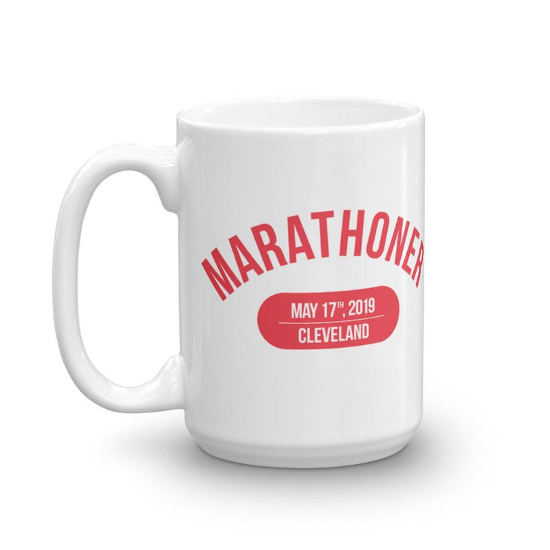 Marathoner Mug - Choose your Marathon 2019 - Sarah Marie Design Studio