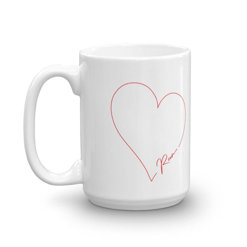 Run Love Mug - Sarah Marie Design Studio