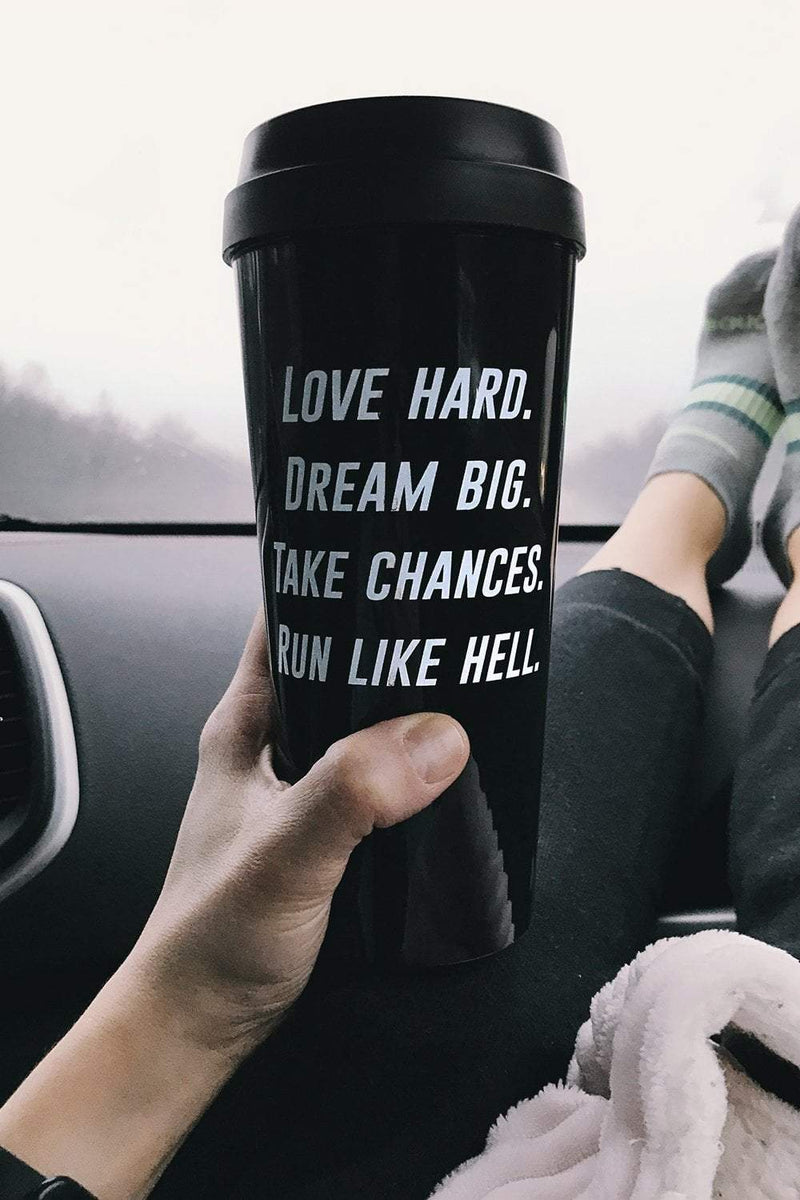 Run Like Hell Travel Mug - Sarah Marie Design Studio