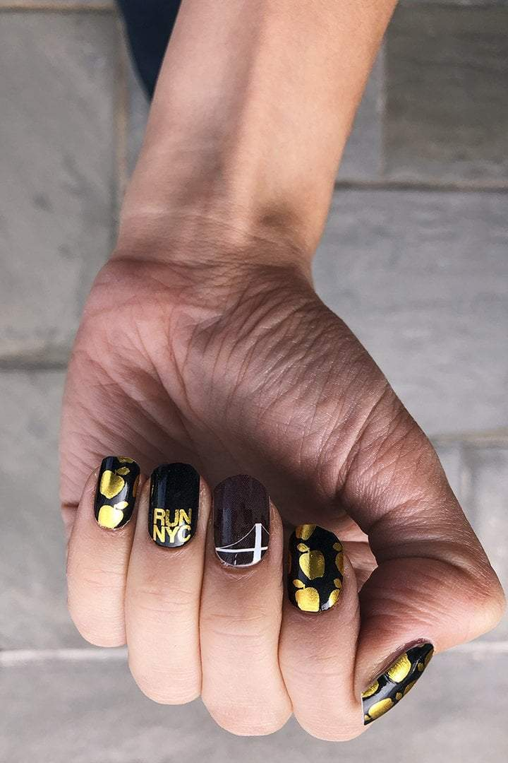 Run NYC Nail Wraps - Sarah Marie Design Studio