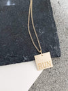 Runner Girl Necklace