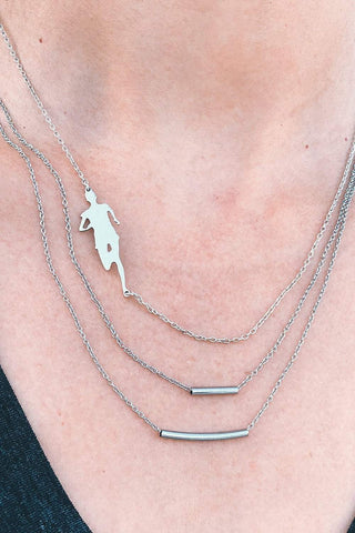 Marathoner Boston Necklace